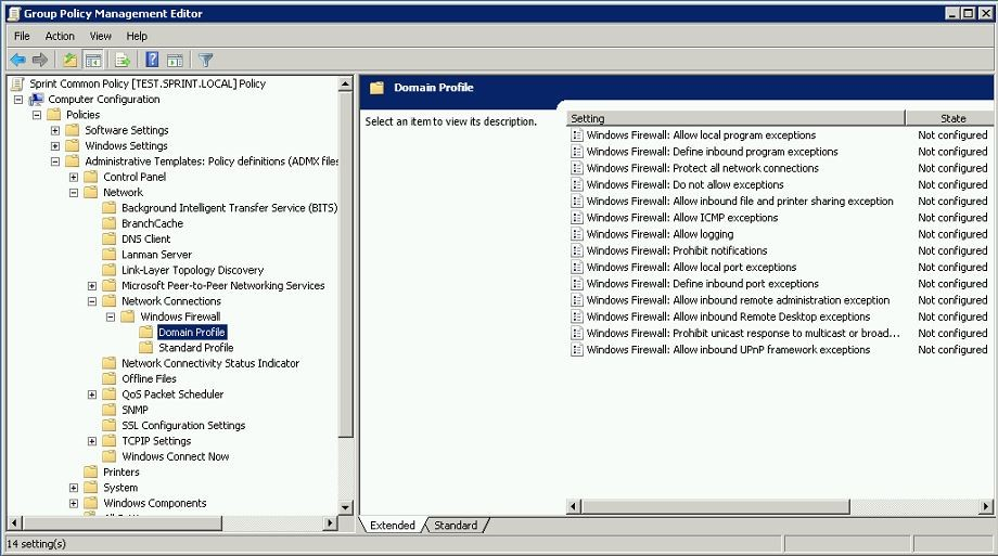 how to use group policies in domain envionment rebeladmin com