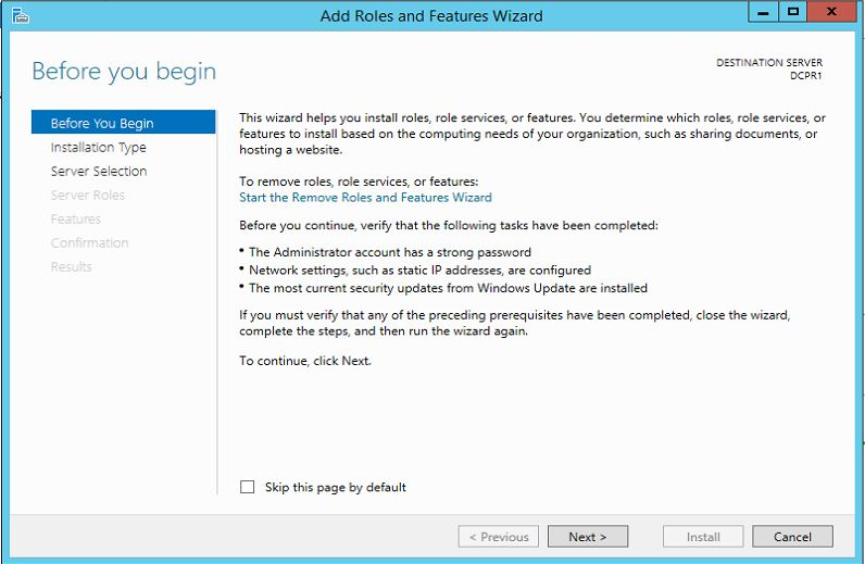 Step by Step guide to setup Active Directory on Windows