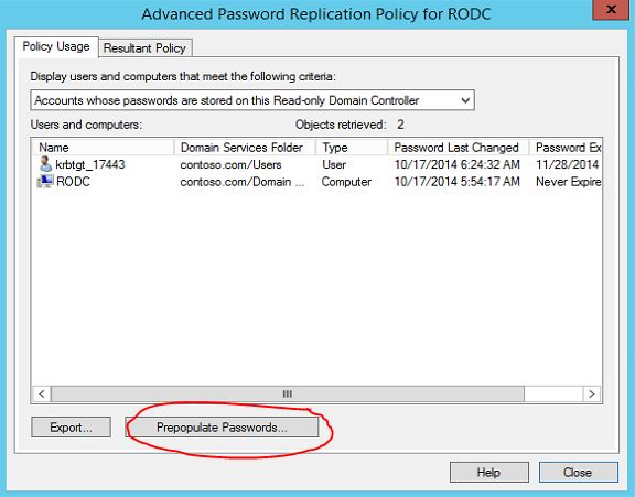 Password Replication in RODC - RebelAdmin com
