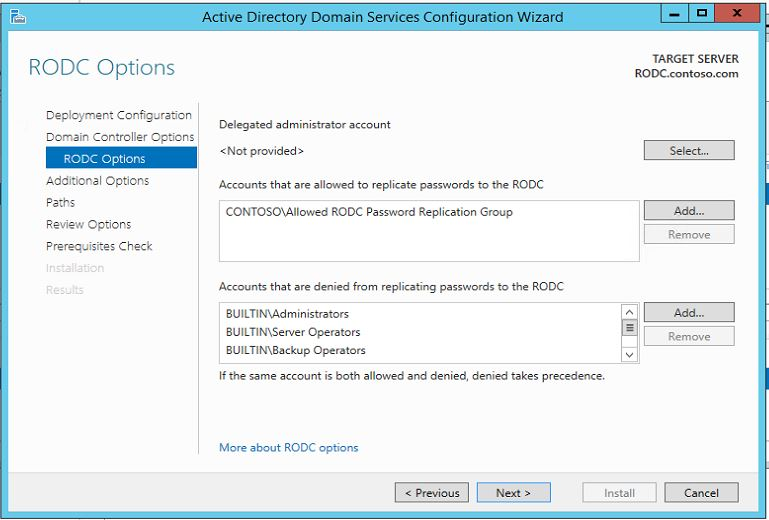 Step-by-Step guide to install Read-Only Domain Controller