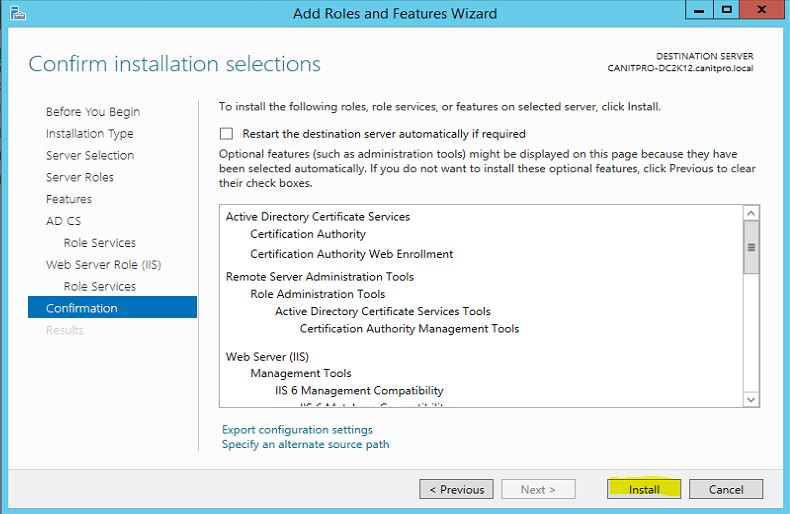 Step By Step Guide To Migrate Active Directory Certificate Service