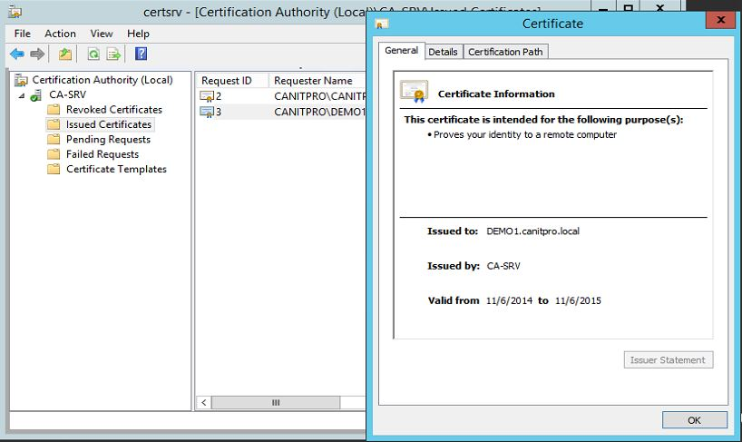 Step by step guide to migrate active directory certificate service adcs50 yadclub Images