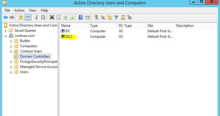 how to change domain controller name