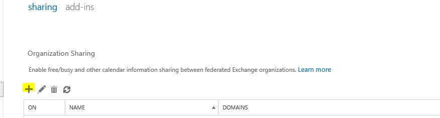 Share Calendar Outside Organization Exchange : Step by guide to create federated sharing between on