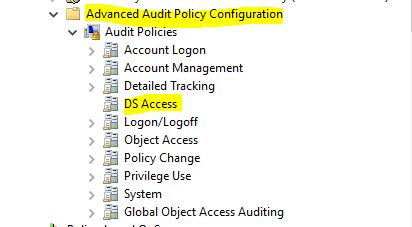 Step-By-Step: Enabling Advanced Security Audit Policy via Directory