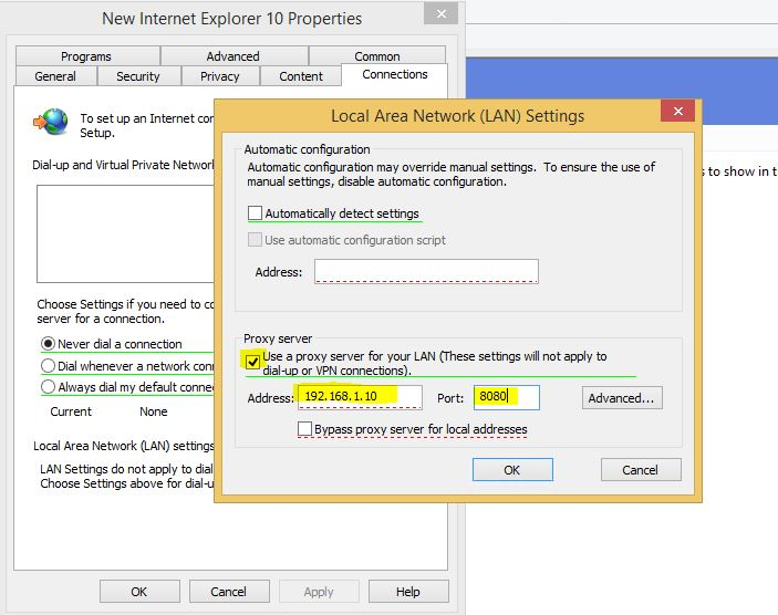 auto detect proxy settings group policy