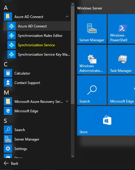 Step-by-Step Guide to enable password synchronization to Azure