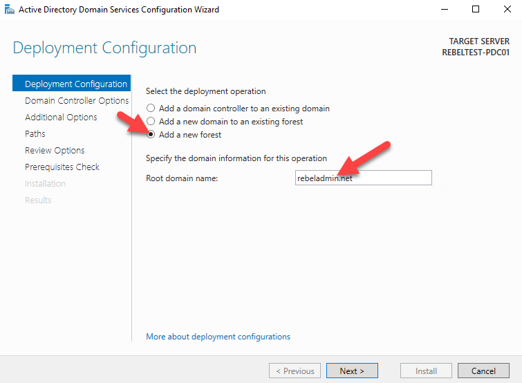 Step-by-Step guide to setup Active Directory on Windows
