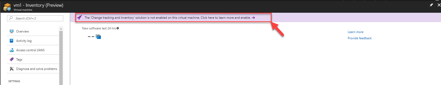 Introducing change tracking and inventory features for Azure VM