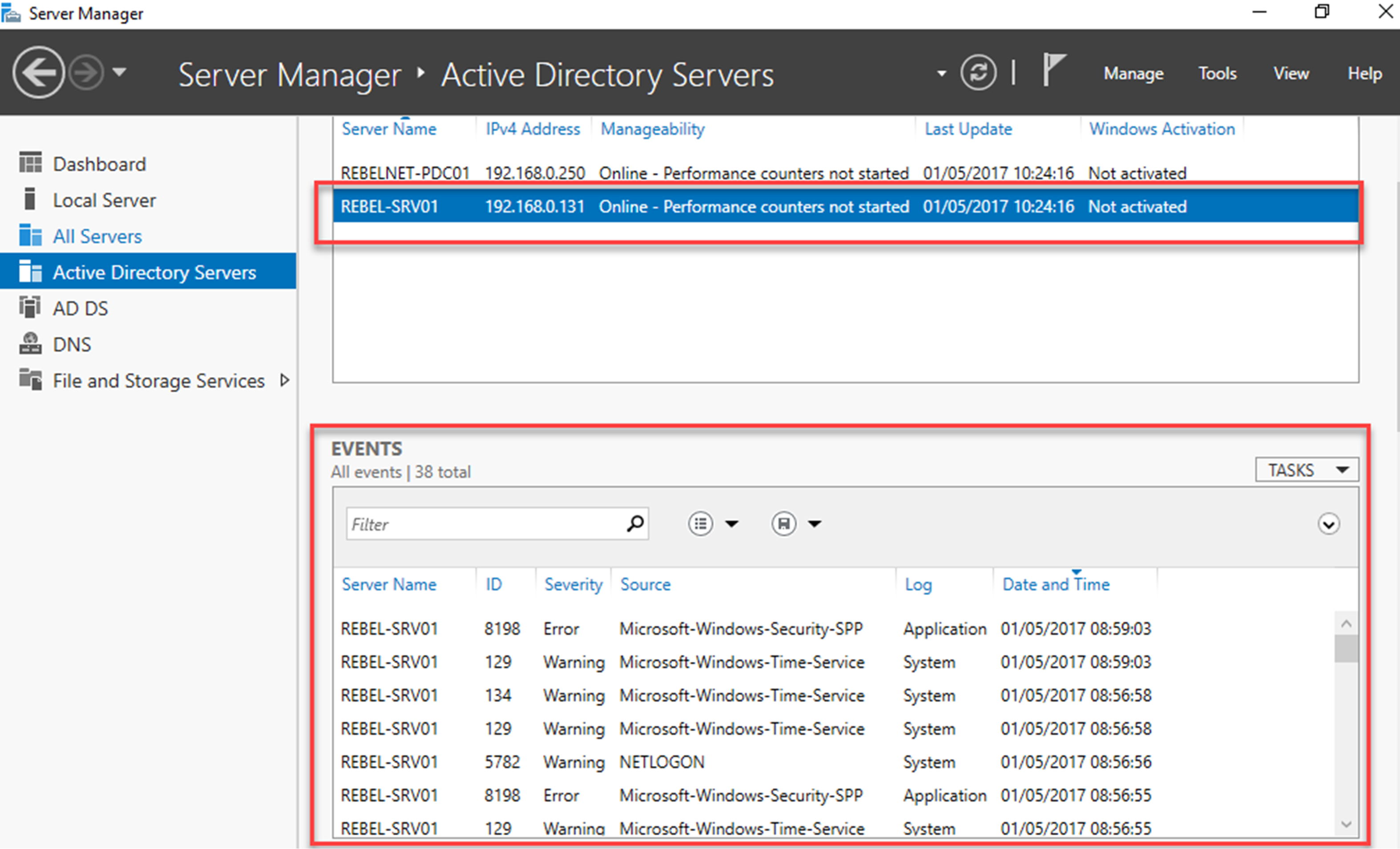 active directory domain services resume federal template