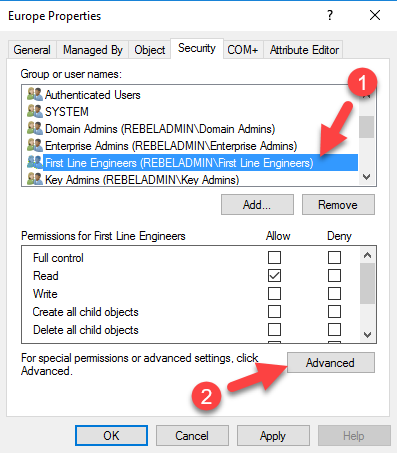 Step-by-Step guide to Manage Active Directory Permissions