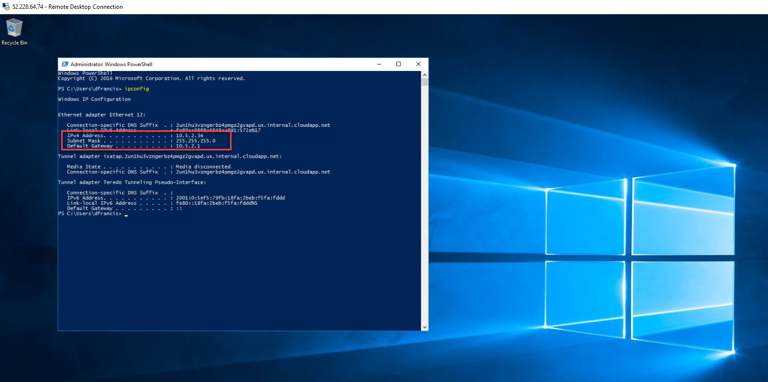 How to re-enable Network Interface in Azure VM? - RebelAdmin com