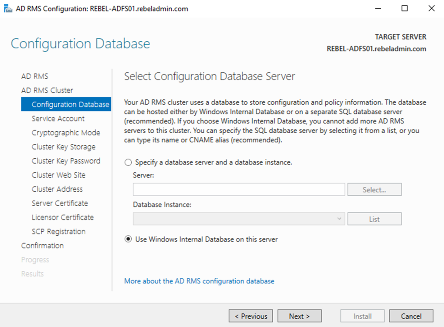 Active Directory Right Management Service (AD RMS) – Part 04