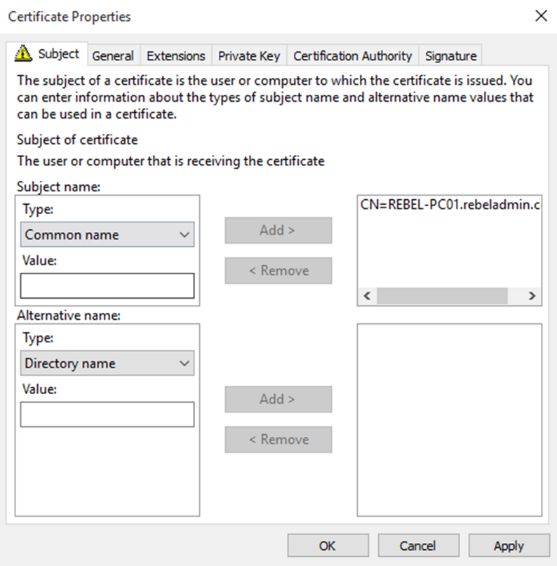 Step-by-Step Guide to Setup Two-Tier PKI Environment
