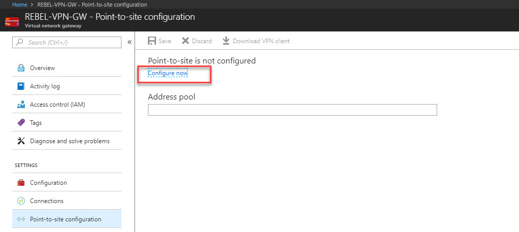 Step-by-Step guide to Azure Point-to-Site VPN - RebelAdmin com