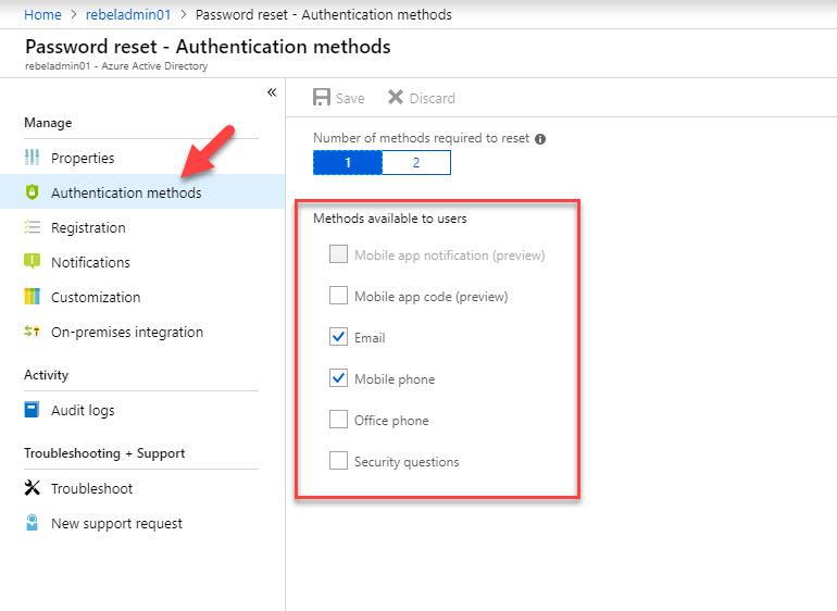 Azure AD Self-Service password reset for Windows 7/8 1