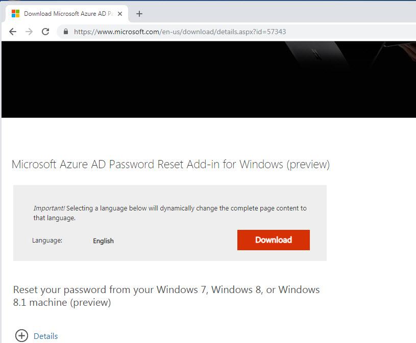 password reset windows 8.1 download