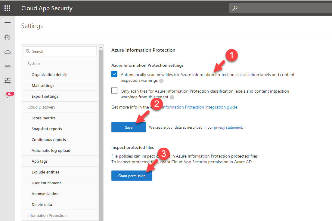 Step-by-Step Guide: Protects files with azure cloud app security