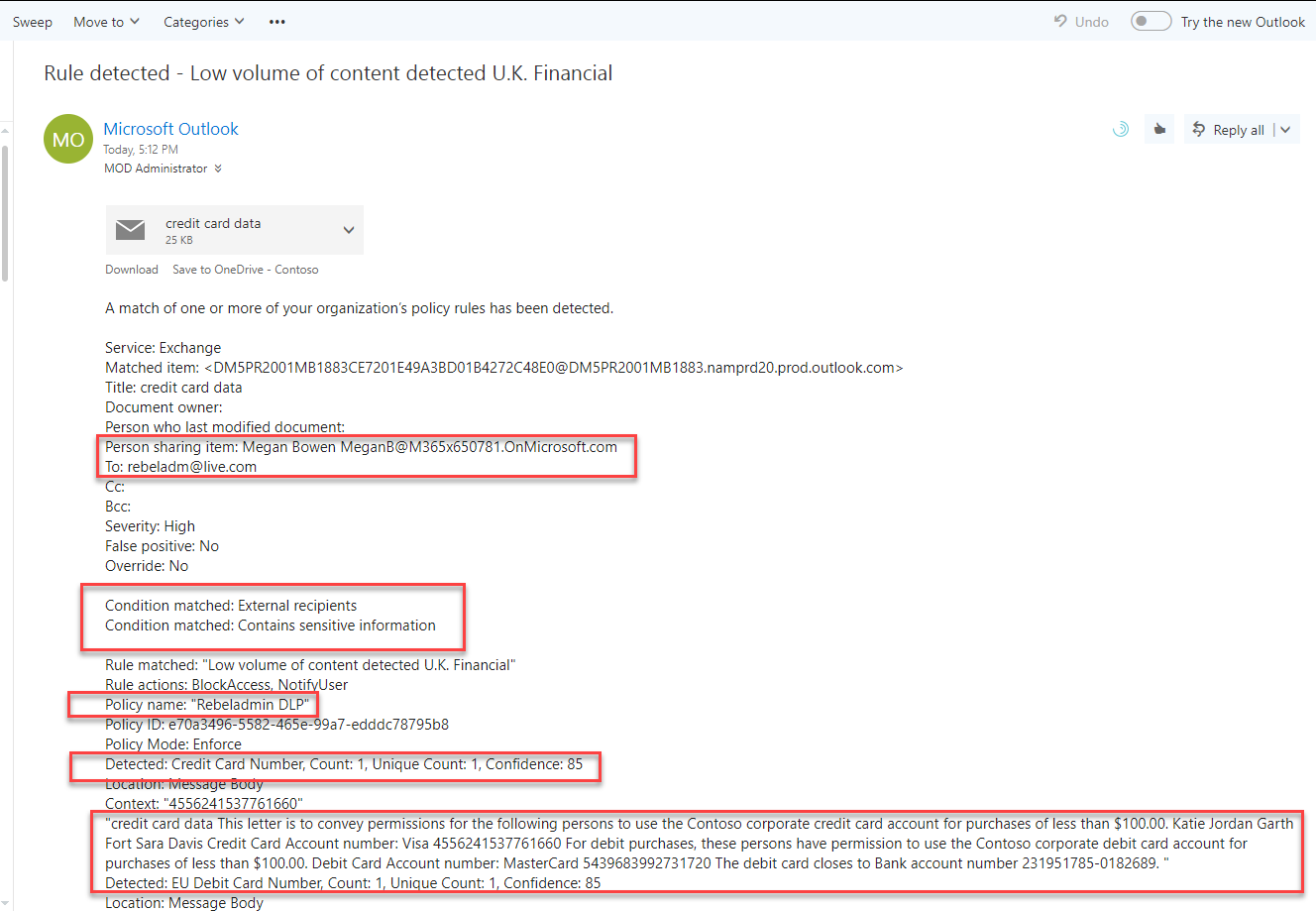 Step-by-Step Guide: Prevent Sensitive Data Leaks using Office 365