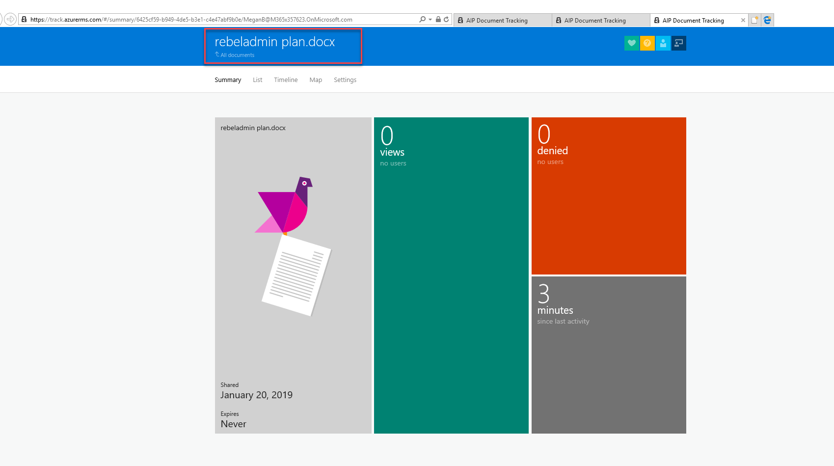 Step-by-Step Guide: How to track shared documents using