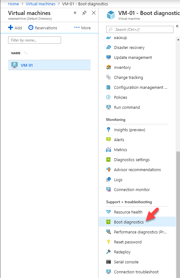 Step-by-Step Guide : Serial Console for Azure VM