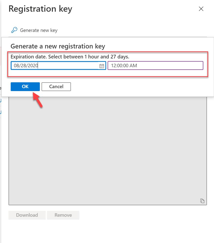 define registration key expiry dates