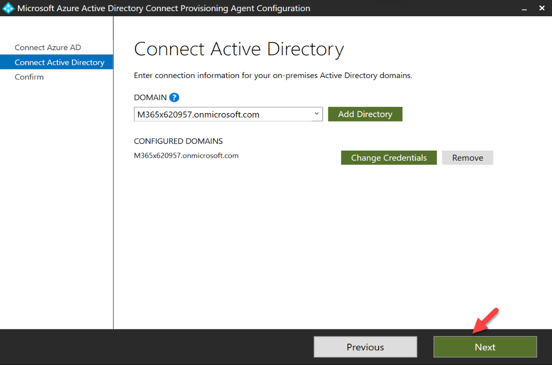 connect windows AD to Azure AD Connect cloud provisioning agent