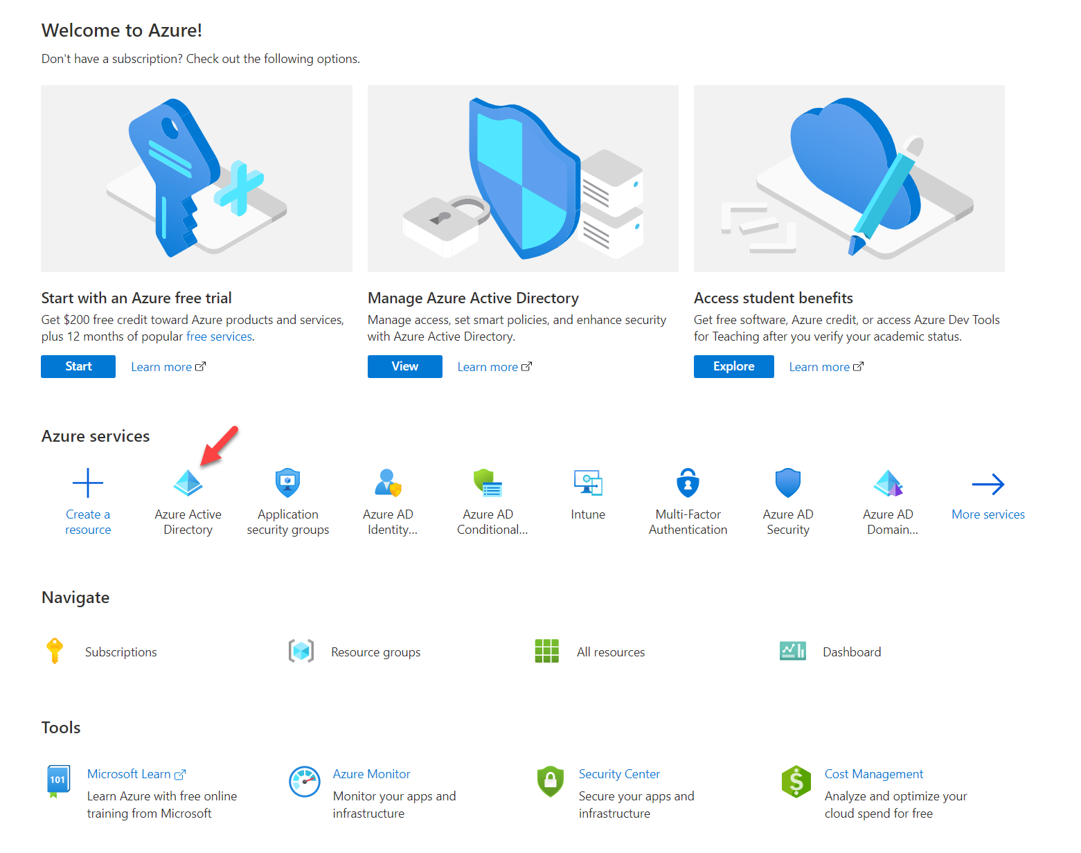 Azure Active Directory Service