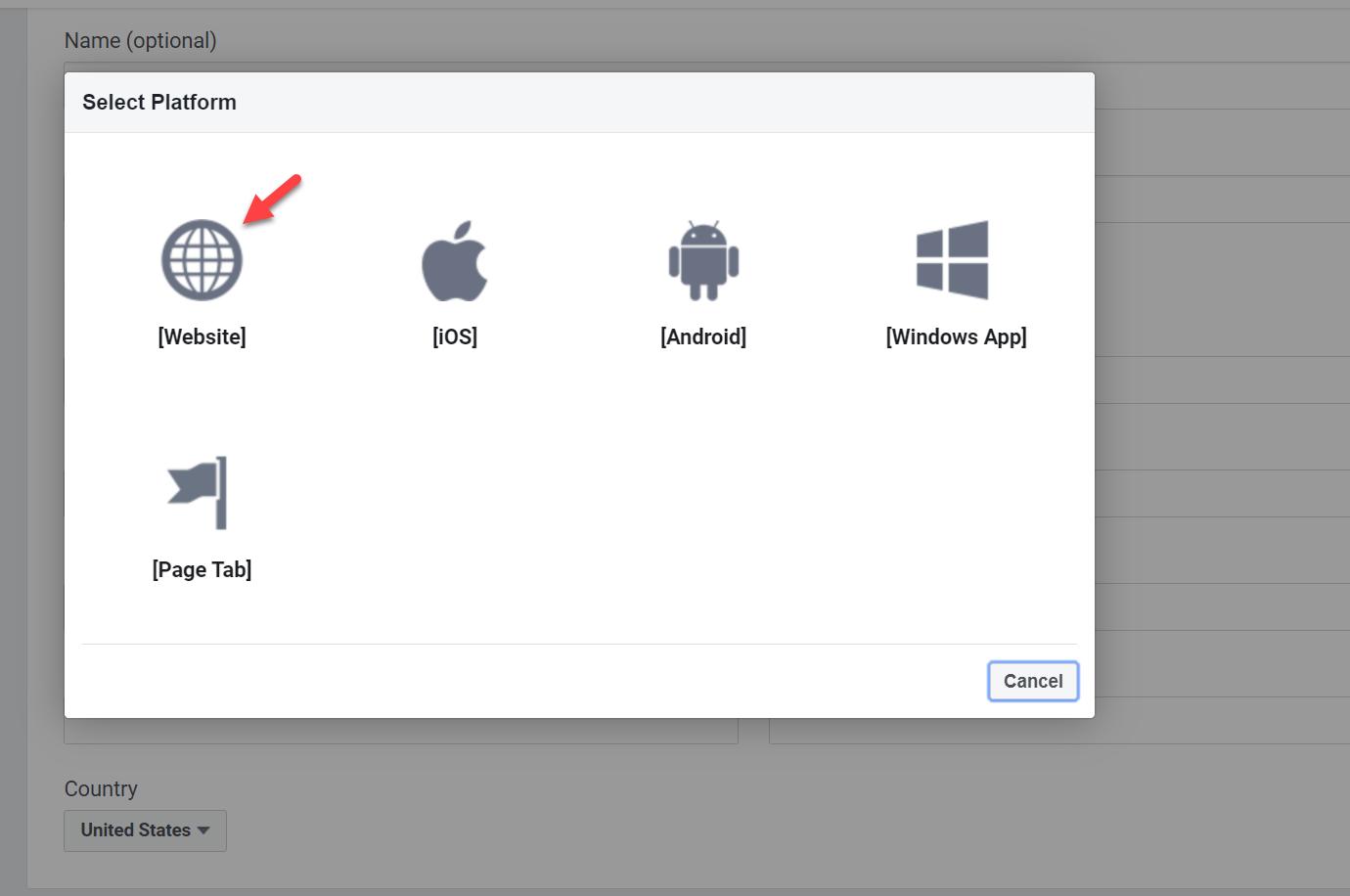Website as app platform
