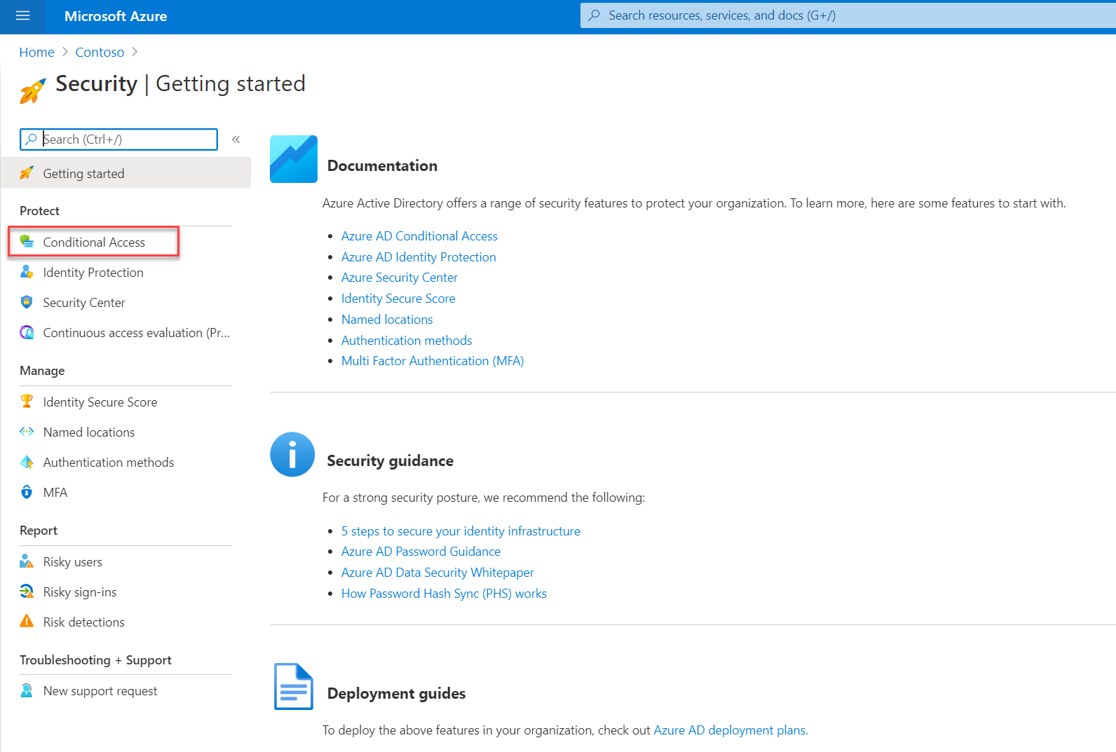 Azure Active Directory Conditional Access Policies
