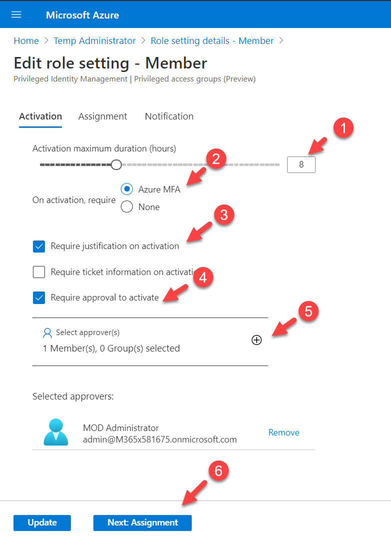 Manage Privileged access groups with Azure AD Privileged Identity Management (Azure AD PIM)