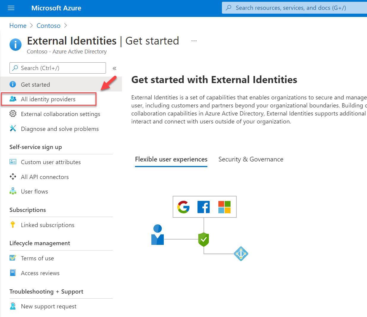 Azure AD Identity Providers